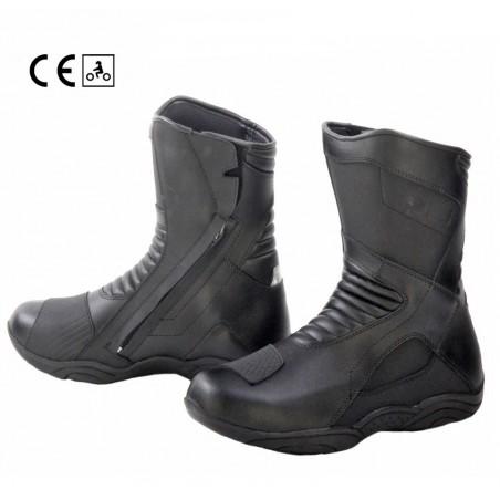 Stivali basso moto touring Oj Middle nero black boots