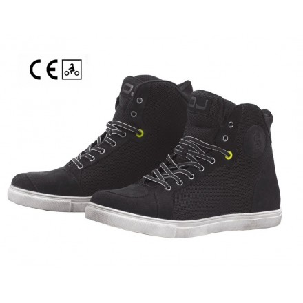 Scarpe moto scooter Oj Icy nero black sneaker shoes