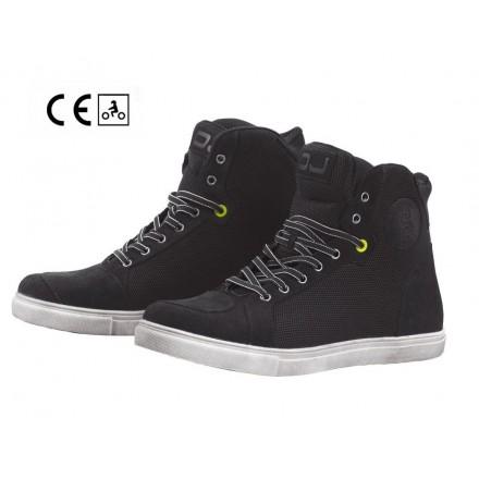 Scarpe moto scooter Oj Icy nero black sneaker shoes