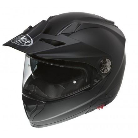 Casco modulare apribile enduro touring adventure moto Premier X-trail nero opaco matt black Helmet casque