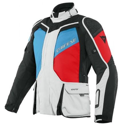 Dainese D-Explorer 2 gore-tex glacier gray blue lava red black Giacca uomo moto touring adventure four seasons man jacket