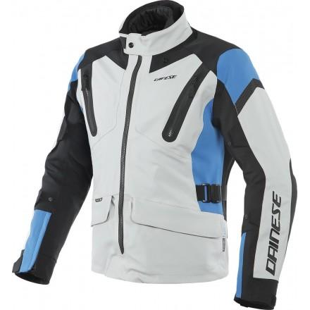 Dainese Tonale D-dry glacier-gray blue black Giacca uomo moto sport touring adventure grigio chiaro blu nero jacket