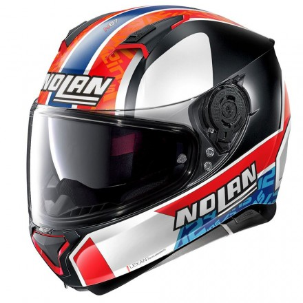 Nolan N87 Gemini replica Rins 95 Casco integrale moto fullface helmet casque