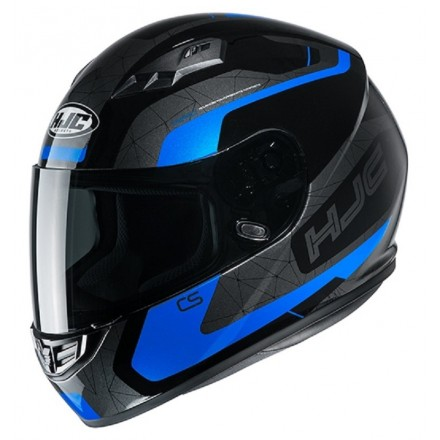 Casco Integrale moto Hjc Cs-15 Dosta nero blu Mc2 black blue helmet casque