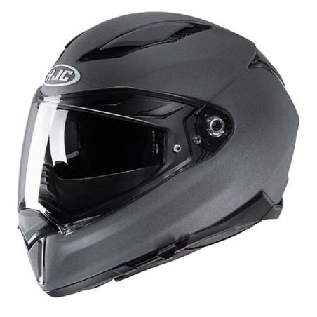 Casco Integrale moto Hjc F70 semi flat stone grey helmet casque