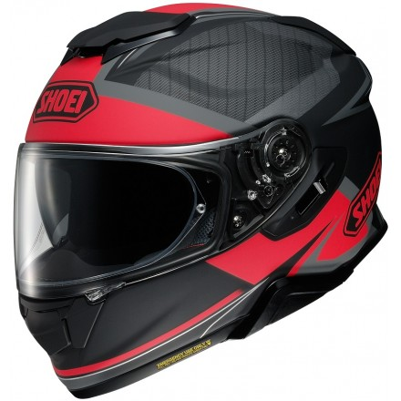 Casco integrale moto Shoei Gt-Air 2 Affair Tc-1 nero rosso black red helmet casque