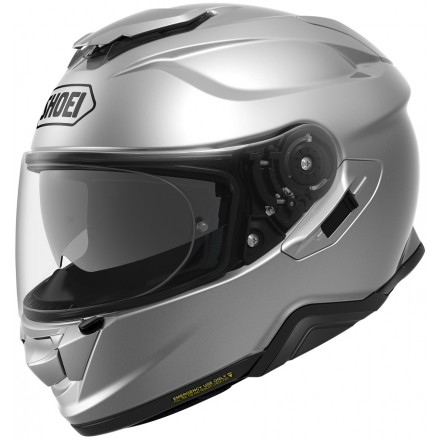 Casco integrale Shoei Gt-Air 2 grigio silver light silver helmet casque