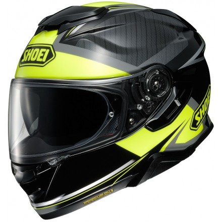 Casco integrale moto Shoei Gt-Air 2 Affair Tc-3 nero giallo fluo black yellow helmet casque