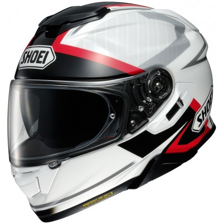 Casco integrale moto Shoei Gt-Air 2 Affair Tc-6 bianco nero rosso white black red helmet casque