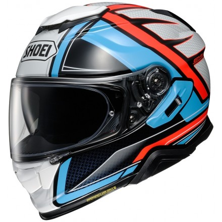 Casco integrale moto Shoei Gt-Air 2 Haste Tc-2 white red blu helmet casque