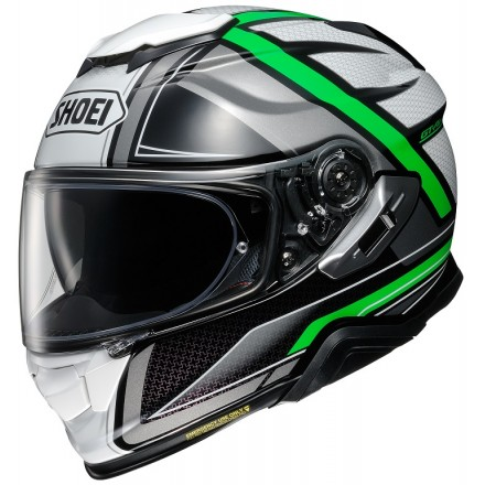 Casco integrale moto Shoei Gt-Air 2 Haste Tc-4 white black green helmet casque