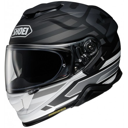 Casco integrale moto Shoei Gt-Air 2 Insignia TC-5 bianco nero white black helmet casque