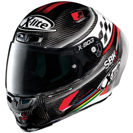 Casco integrale carbonio moto Xlite X803 Rs Ultra carbon SBK 12 full face helmet casque
