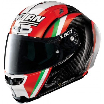 Casco integrale carbonio moto Xlite X803 Rs Ultra carbon replica Stoner Together 20 full face helmet casque