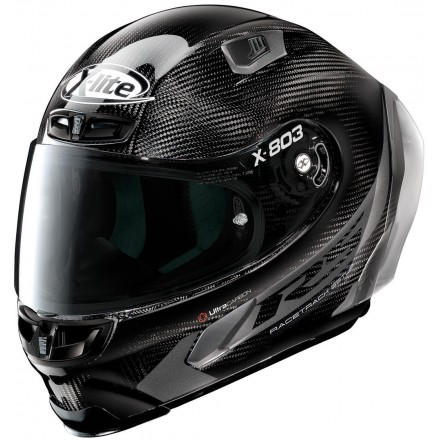 Casco integrale carbonio moto Xlite X803 Rs Ultra carbon Hot Lap black 15 full face helmet casque