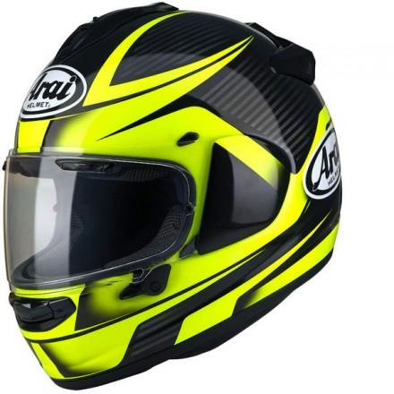 Arai Chaser-X Tough black yellow Casco integrale moto full face helmet casque