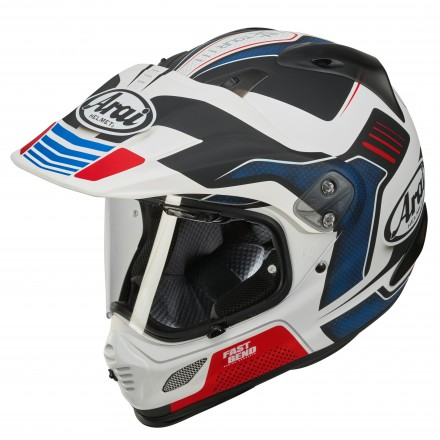 Arai Tour-X 4 Vision white red blu Casco integrale on off adventure moto full face helmet casque