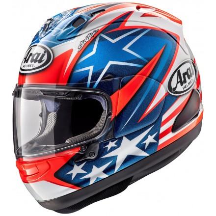 Arai Rx-7 V Hayden WSBK Casco integrale moto full face helmet casque