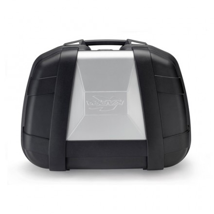Top Case Valigia Bauletto moto posteriore Kappa KGR52 52 litri nero grigio black silver