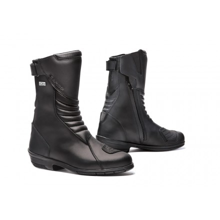 Stivali donna moto touring Forma Rose Outdry Nero black lady Boots