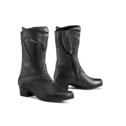 Stivali donna moto Forma Ruby Nero black lady Boots