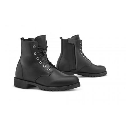 Scarpe Stivaletti donna moto Forma Crystal Nero black lady Boots shoes