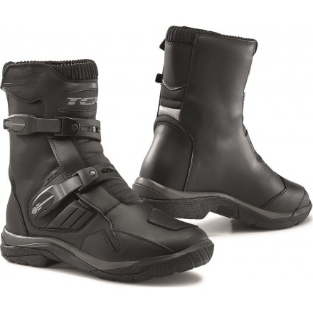 Stivali bassi moto adventure touring Tcx Baja mid wp nero black waterproof boots