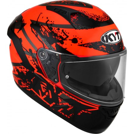 Casco integrale moto KYT NF-R Neutron rosso red helmet casque
