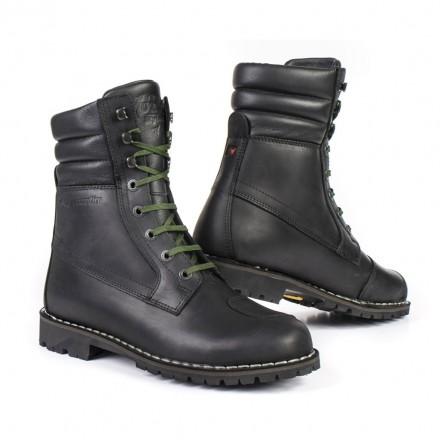 Scarpe Stivaletti moto pelle Stylmartin Yu-rok nero black waterproof shoes short boots