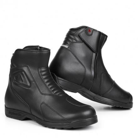 Scarpe Stivali bassi moto pelle Stylmartin shiver low nero black waterproof shoes boots