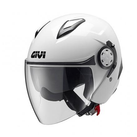 Casco Givi 123 Stratos bianco white Helmet casque