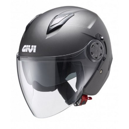 Casco Givi 123 Stratos titanio opaco titanium mat Helmet casque