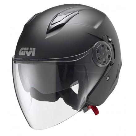 Casco Givi 123 Stratos nero opaco matt black Helmet casque