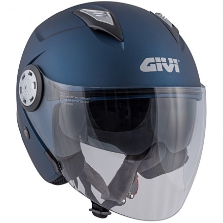 Casco Givi 123 Stratos blu opaco mat Helmet casque