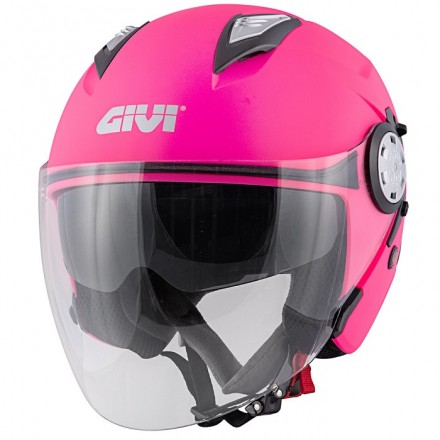 Casco donna Givi 123 Stratos rosa opaco pink mat lady woman Helmet casque
