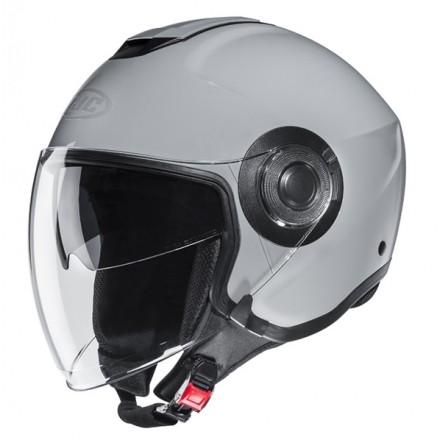 Casco jet Hjc i40 grigio nardo grey Helmet casque