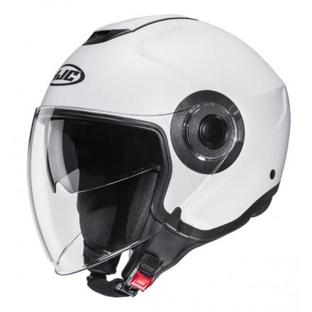 Casco jet Hjc i40 bianco white Helmet casque