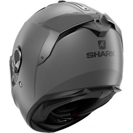 Casco integrale moto fibra Shark Spartan Gt antracite opaco anthracite matt helmet casque