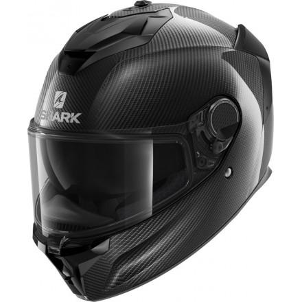 Casco integrale moto fibra carbonio Shark Spartan Gt Carbon black helmet casque