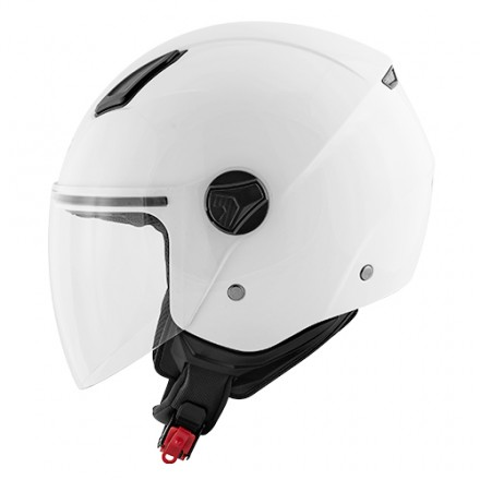 Casco jet city urban Kappa Kv28 bianco white helmet casque
