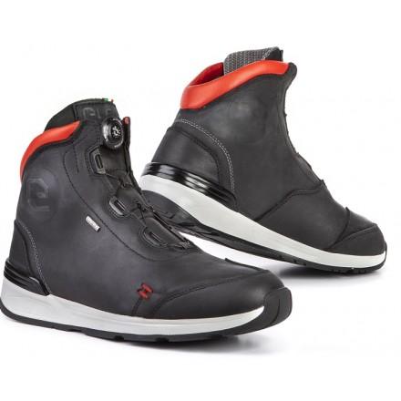 Scarpe moto Eleveit Versus nero rosso black red shoes