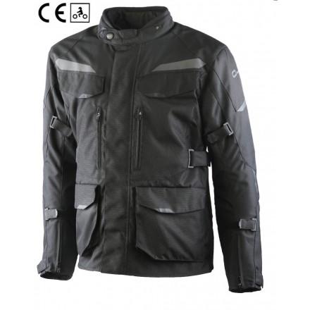 Oj After nero Giacca uomo moto touring quattro stagioni four seasons man jacket