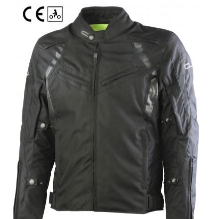 Oj Attitude nero man Giacca uomo moto sport touring jacket