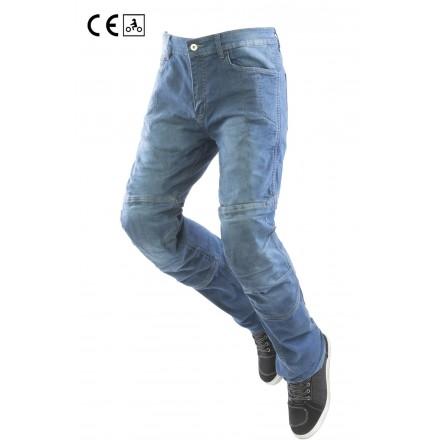 Jeans uomo omologati moto con protezioni Oj Defender man blu