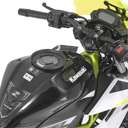 Flangia Givi BF42 Specifica per borsa serbatoio moto Kawasaki Z125 Tanklock tank bag