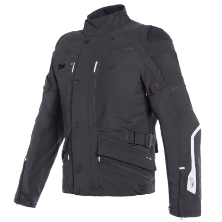 Giacca moto touring Dainese Carve Master 2 D-Air Goretex nero black jacket
