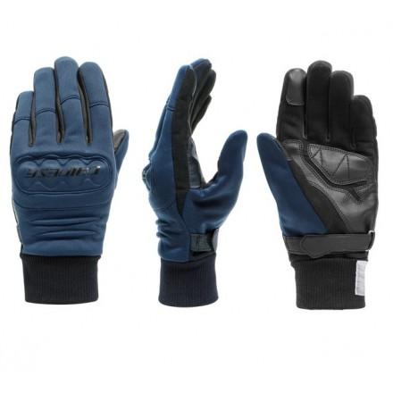 Guanti moto scooter antivento Dainese Coimbra Gore windstopper blu gloves