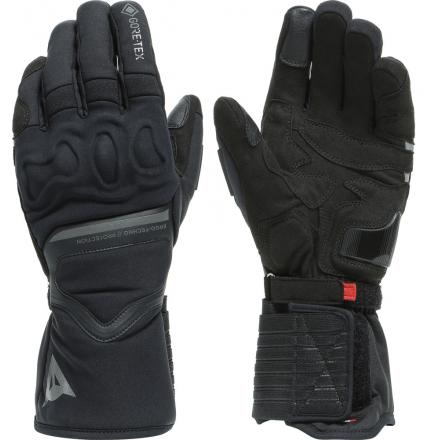 Guanti moto autunno inverno Dainese Nembo goretex nero black gloves