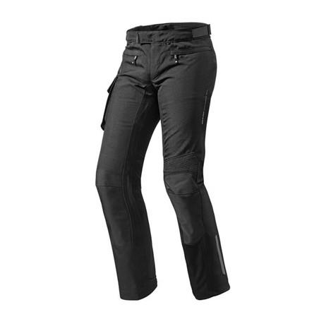 Pantaloni moto touring accorciati Revit Enterprise 2 short nero black pant trouser