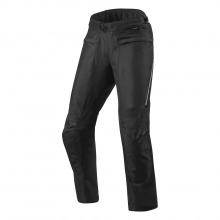 Pantaloni moto accorciati Rev'it Factor 4 short Nero black pant trouser